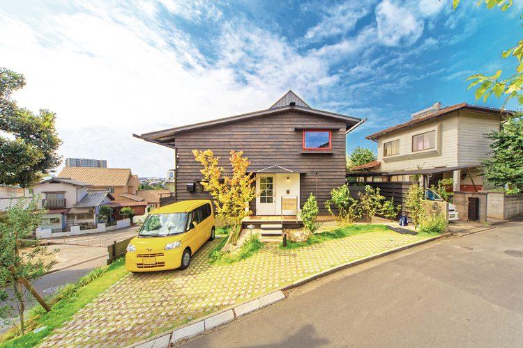 sinkenstyle 外観 木の家 福岡
