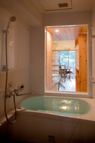 室内露天風呂