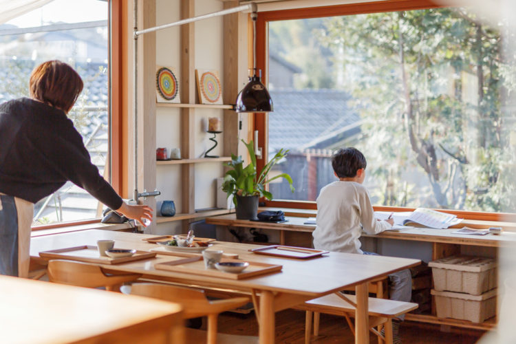 シンケン暮らしの見学会、シンケンスタッフ山口の家