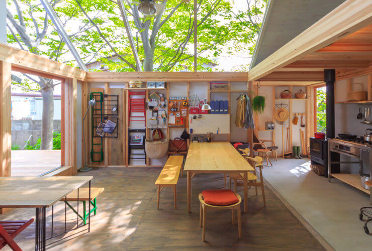 陽だまりが心地いい、博多の森モデルルーム