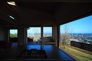 シンケンスタイル実例集、見晴らし台のある家、キッチン