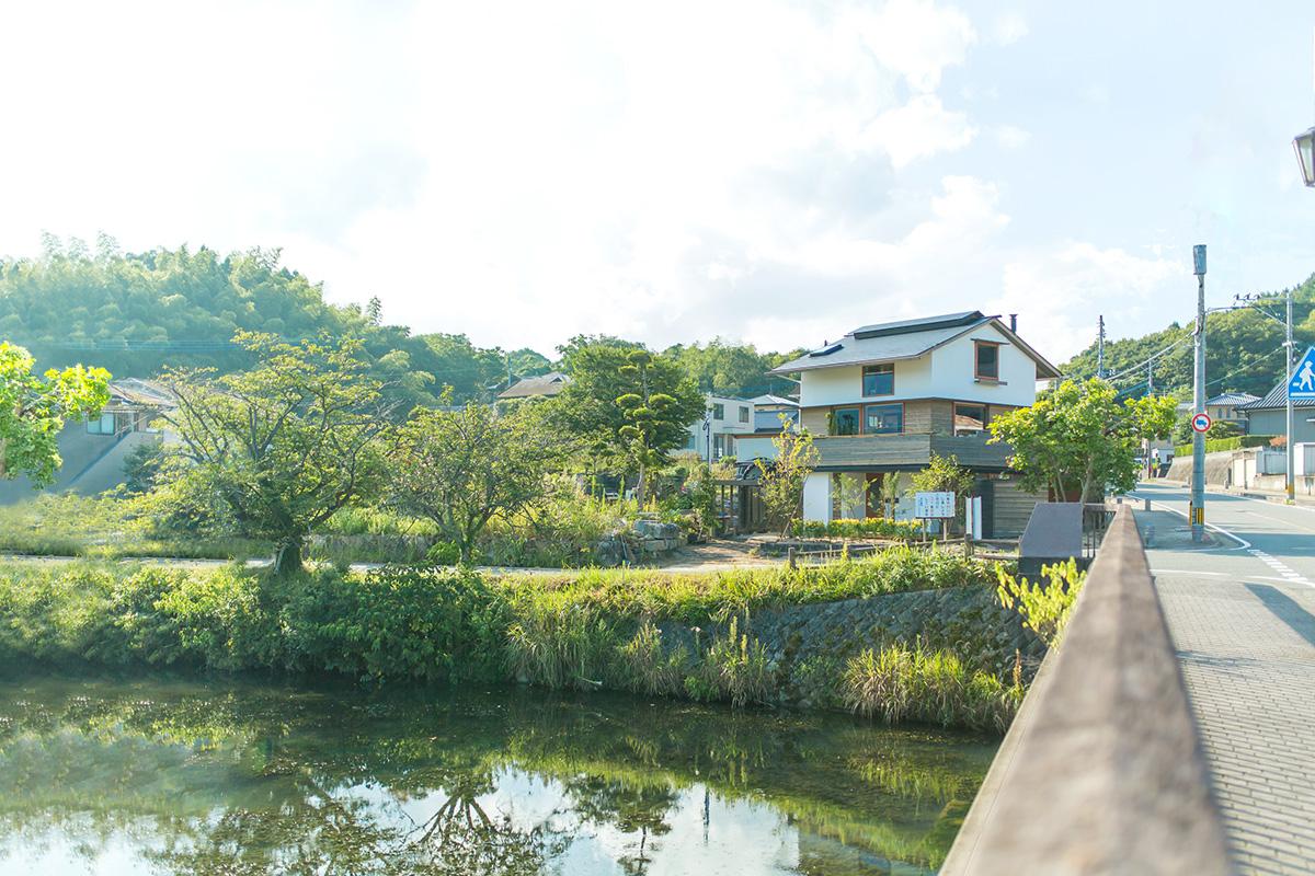 シンケンスタイル実例集、河畔のビューテラス