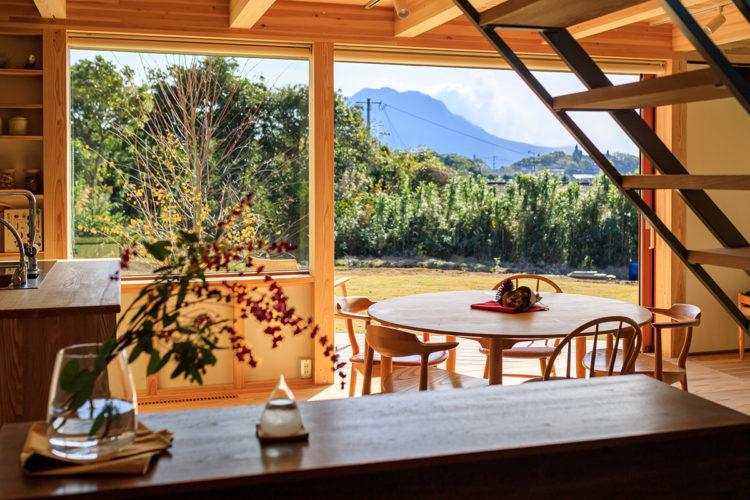 桜島と花鳥風月 自然と暮らす家