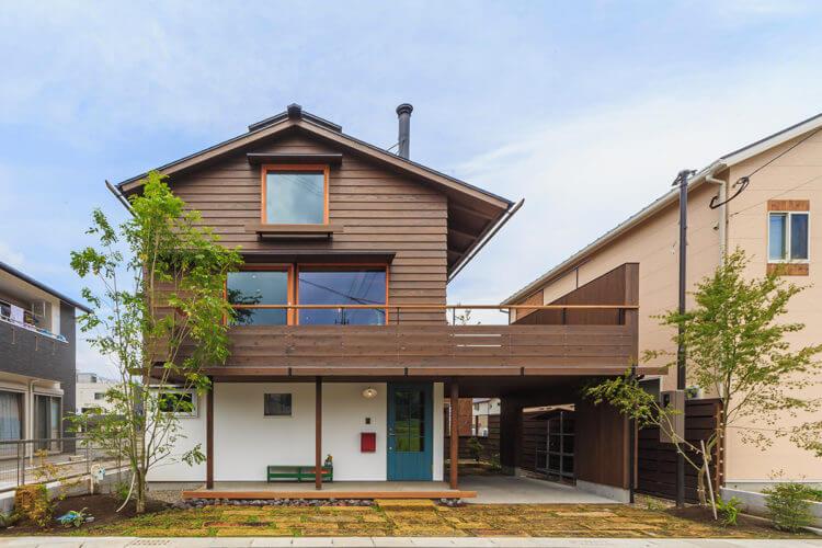 34坪の狭小地 心地よく暮らす家