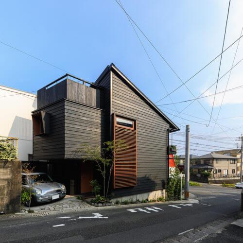 暮らしの見学会、19坪に建つ家