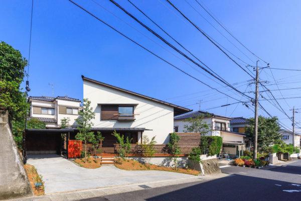 街並みを豊かに 四季を愉しむ家